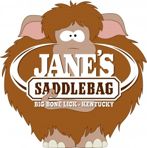 Janes Saddlebag Cartoon Logo Rasterized