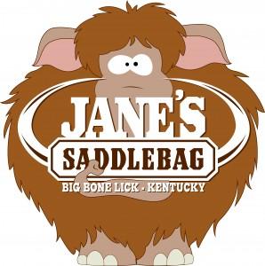 Janes Saddlebag Cartoon Logo Rasterized